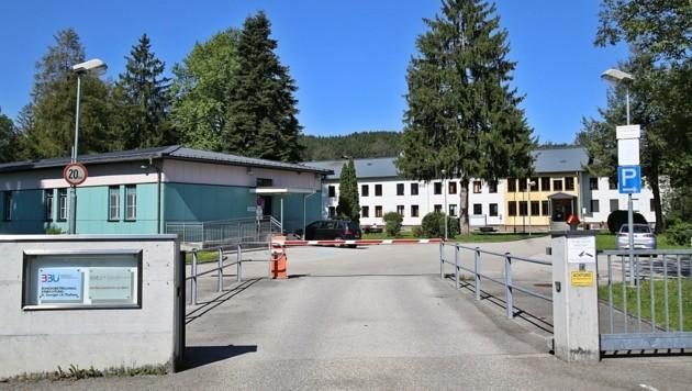 Der Eingang zum EAZ St. Georgen (Bild: Hörmandinger Reinhard)