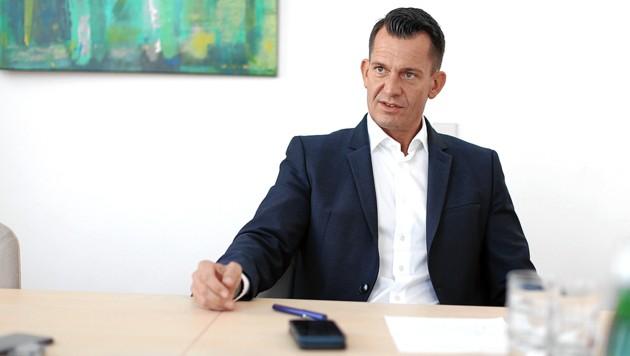 """Österreichs Gesundheitsminister: """"Es macht keinen Sinn, Geimpfte zu Hause zu lassen."""" (Bild: Gerhard Bartel)"""