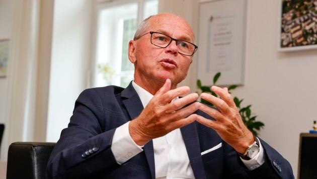 Christian Stöckl hat für die hohe Impfskepsis in Salzburg eine politische Erklärung. (Bild: Tschepp Markus)