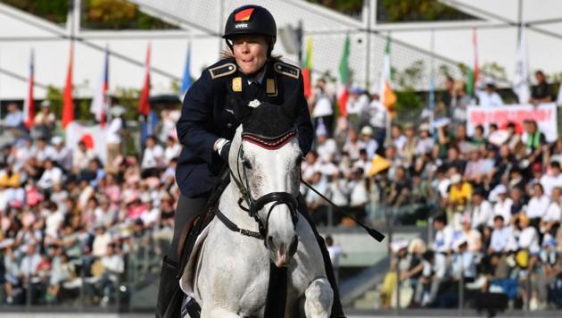 Annika Schleu (Bild: AFP)