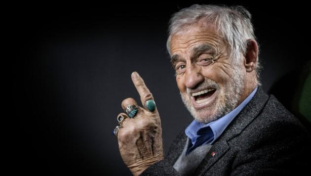 Ab Mitte der 1960er-Jahre war Belmondo zwei Jahrzehnte lang als Komödiant und agiler Held actionbetonter Filme einer der erfolgreichsten Stars des europäischen Kinos. (Bild: AFP/JOEL SAGET)