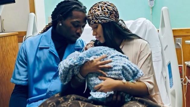 Cardi B ist zum zweiten Mal Mama geworden. (Bild: instagram.com/iamcardib)