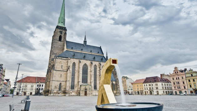 "Die ""entweihte"" St.-Bartholomäus-Kathedrale in Pilsen (Bild: ©Anibal Trejo - stock.adobe.com)"