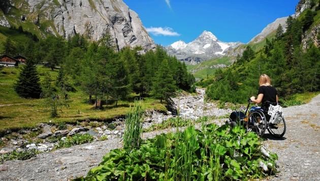 Das Ködnitztal am Fuße des Großglockners kann jetzt mit den Swiss-Tracs erkundet werden. (Bild: NPHT/Kurzthaler)