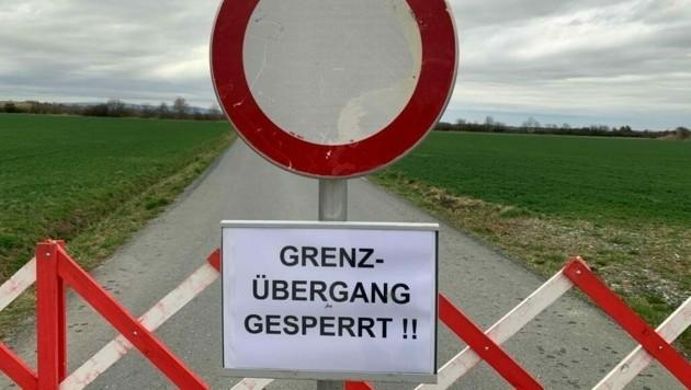 Entlegene Routen und kleine Grenzübergänge sollen laut FPÖ bei Bedarf kurzfristig geschlossen werden. (Bild: Christian Schulter)