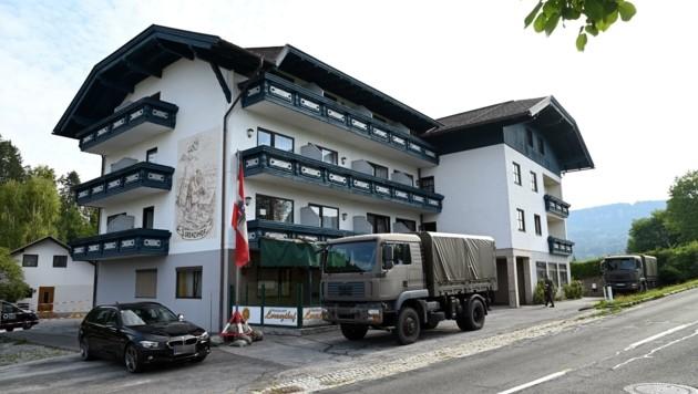 Die Grenzsoldaten des Heeres müssen den Lorenzihof verlassen. (Bild: SOBE HERMANN)