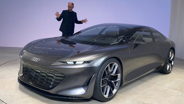 Audi-Designchef Marc Lichte: Der Audi Grandsphere ist mehr als ein Showcar! (Bild: Stephan Schätzl)