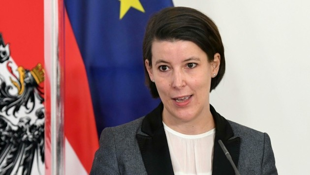 Chief Medical Officer Katharina Reich (Bild: APA/HELMUT FOHRINGER)