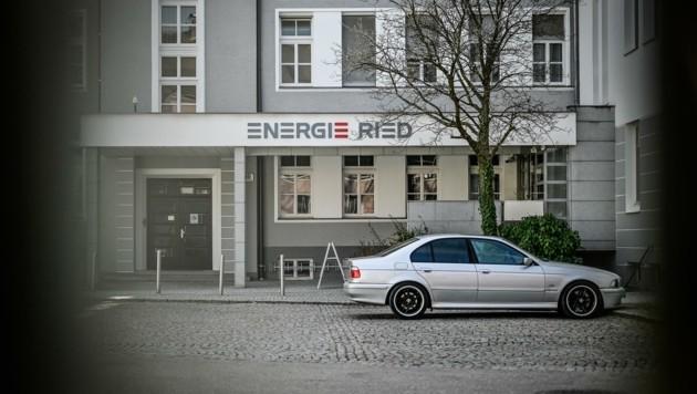 Im Gebäude der Energie Ried dürften die Ex-Bosse über viele Jahre Bilanzen gefälscht haben (Bild: Alexander Schwarzl)