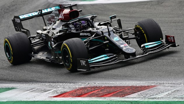 Lewis Hamilton (Bild: APA/AFP/ANDREJ ISAKOVIC)