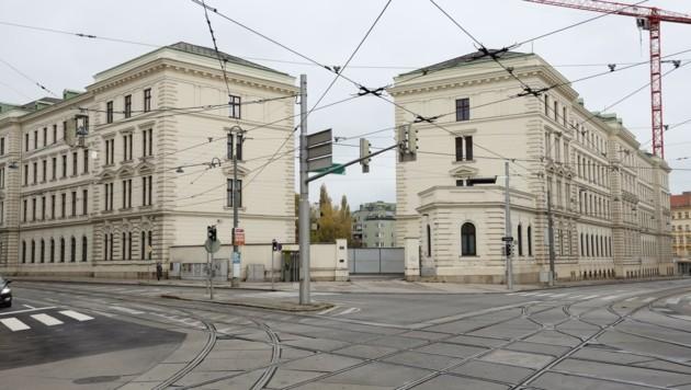 """Die Zentrale des polizeilichen Nachrichtendienstes """"BVT alt"""" – jahrelang war hier ein Leck. (Bild: Karl Schöndorfer)"""