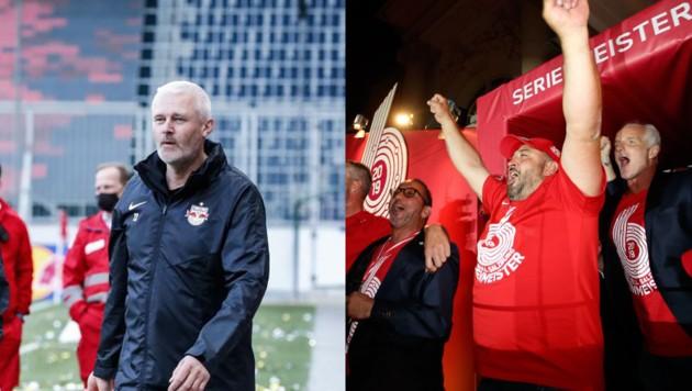 Power-Duo als Zeugwarte: Tom Strasser (li.) und Hakan Efe. (Bild: Gepa)