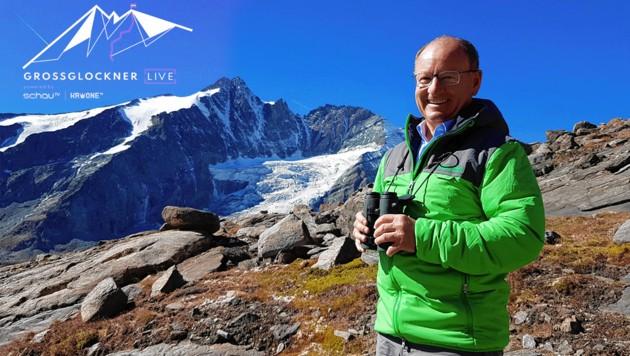 Nationalpark-Direktor Peter Rupitsch über die Entstehung des größten Nationalparks der Alpen und dessen größte Sorgen. (Bild: Arnulf Prasch, Krone KREATIV)