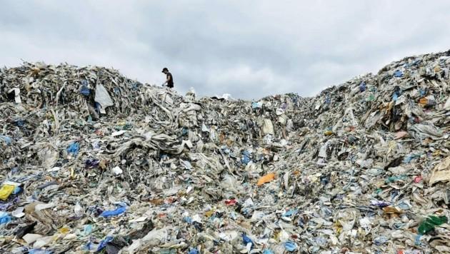 Plastikmüll in Malaysia (Bild: © Nandakumar S. Haridas / Greenpeace)