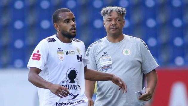 Der Brasilianer Anderson sorgt für mehr Stabilität in der Dornbirner Defensive. (Bild: GEPA pictures)