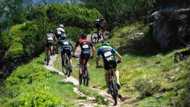 Heute führt die Alpentour Trophy die Mountainbiker im Raum Schladming über Stock und Stein. (Bild: Alpentour Trophy)