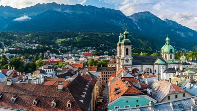 Bestplatzierte heimische Stadt: Innsbruck auf Platz 8 (Bild: ©Fabio Lotti - stock.adobe.com)