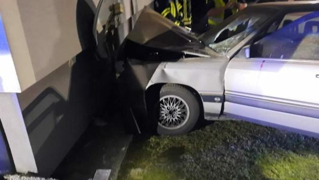 Unfall in Bad Gams (Bild: FF Bad Gams)