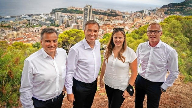 Sturms Vorstand über den Dächern von Monaco (Bild: Pail Sepp)