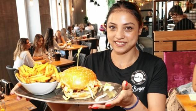 Burger in allen Variationen gibt es bei Le Burger. (Bild: Christian Jauschowetz)