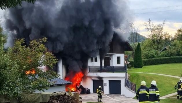 (Bild: Berufsfeuerwehr Klagenfurt-Land)
