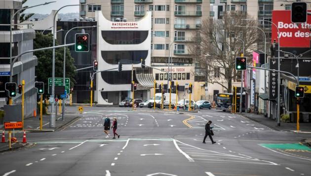 (Bild: Michael Craig/NZ Herald via AP)