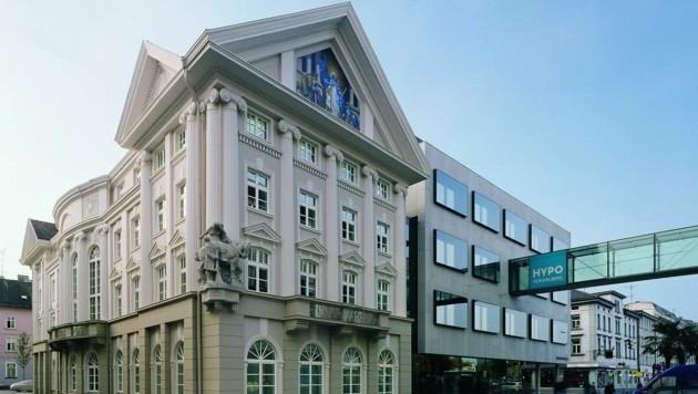 Der Hauptsitz der Hypo Vorarlberg in Bregenz. (Bild: Hypo Vorarlberg)