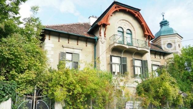 Die ehemalige Stieger-Villa. (Bild: Gabriele Moser)