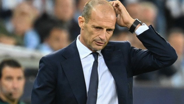Juventus-Trainer Massimiliano Allegri (Bild: APA/AFP/Jonathan NACKSTRAND)