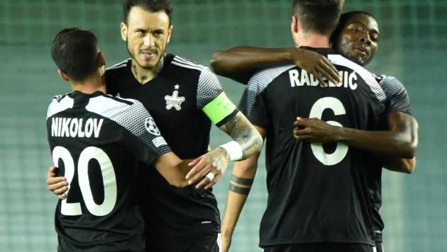 Die Sheriffs durften gegen Donezk einen 2:0-Sieg bejubeln. (Bild: AFP)