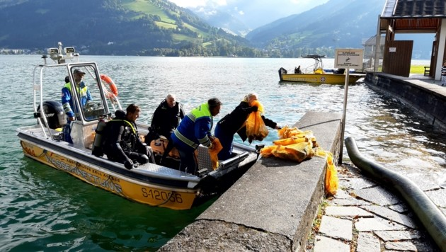 (Bild: ASBÖ Wasserrettung Zell am See)