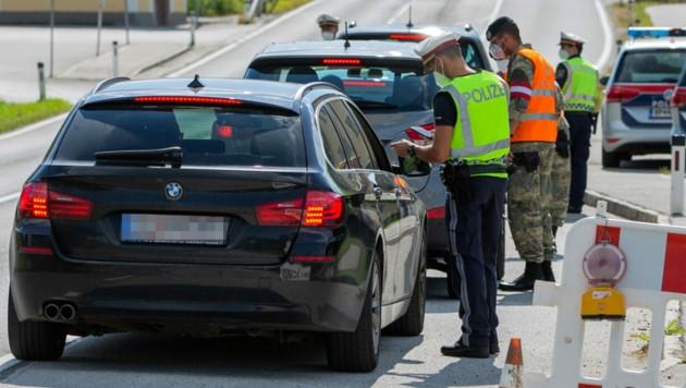 Zweimal wurde in Braunau schon kontrolliert (Bild: APA/MANFRED FESL)