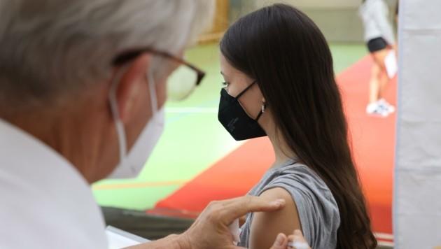 56,1 Prozent der Salzburger sind bis jetzt vollimmunisiert (Bild: Franz Neumayr)