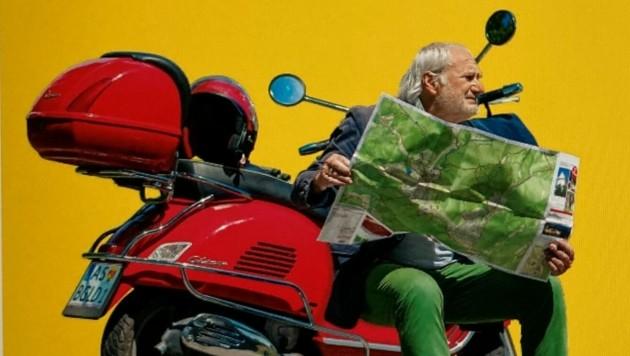 """""""Burgenland für Entdecker"""" lautet der Titel des humorvollen Reisebuches von Michael Schottenberg. (Bild: Verlag Amalthea)"""