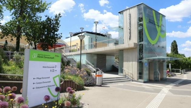 Die Klinik Donaustadt (ehemals SMZ-Ost). (Bild: Zwefo)
