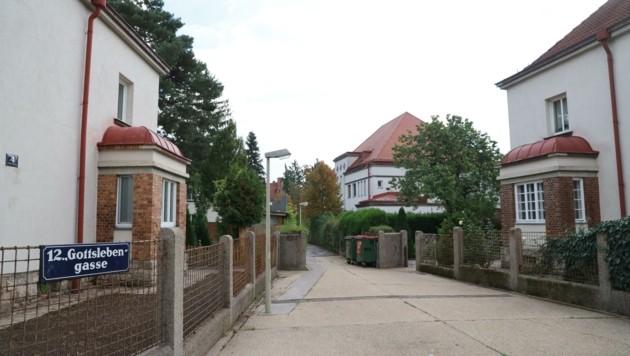 """Gartensiedlung """"Am Tivoli"""" in Wien-Meidling: Sieht idyllisch aus, ist es nicht. Bewohner fühlen sich bedroht. (Bild: Zwefo)"""