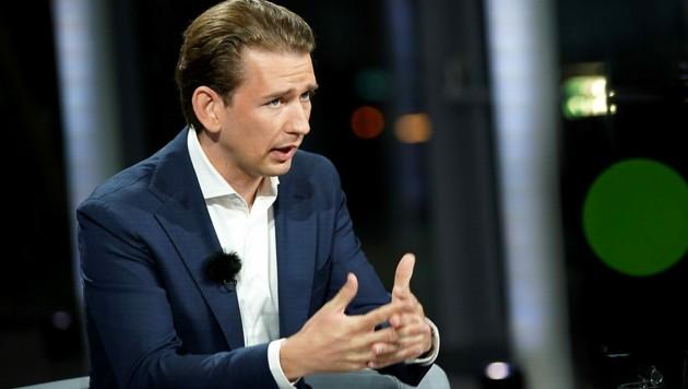 Bundeskanzler Sebastian Kurz (Bild: ORF)
