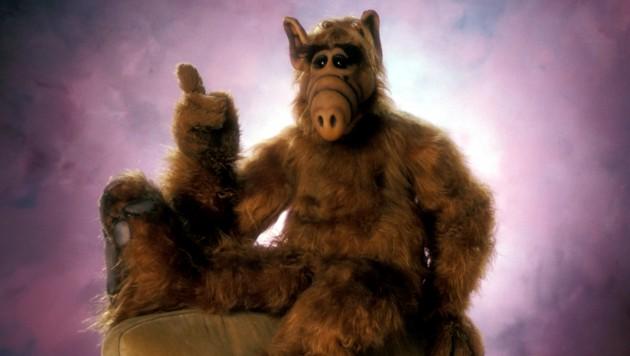 Alf sorgte in den 80er-Jahren für Chaos im Leben der TV-Familie Tanner. (Bild: mptv / picturedesk.com)