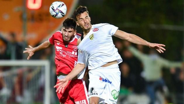 Haris Tabakovic (r.) ließ die Austria am Ende wieder jubeln - zum siebten Mal in der Saison. (Bild: GEPA pictures)