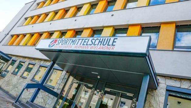 Auch in der Sportmittelschule Bischofshofen gab es vergangenen Freitag einen Positiv-Fall (Bild: Gerhard Schiel)
