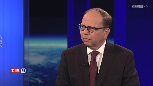 Ärztekammer-Präsident Thomas Szekeres in der ZiB (Bild: ORF)