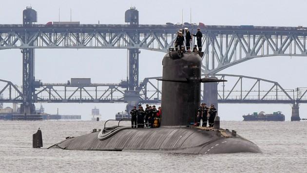 Im U-Boot-Streit zwischen Frankreich und Australien stehen die EU-Mitgliedsstaaten auf der Seite Frankreichs. (Bild: AP)