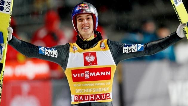 Gregor Schlierenzauer bei seinem Vierschanzentournee-Sieg 2013. (Bild: GEPA )