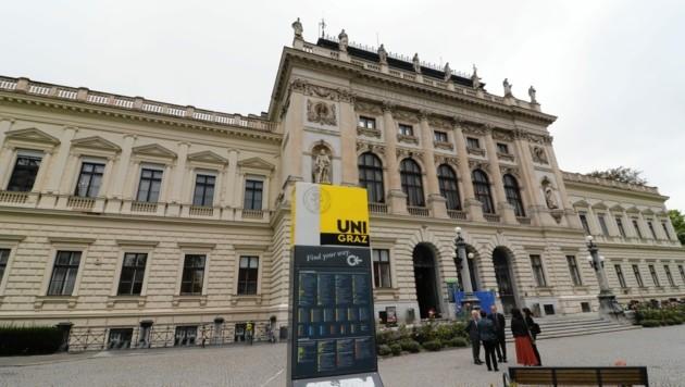 Die Universität Graz (Bild: Christian Jauschowetz)