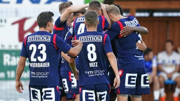 In der ersten Cup-Runde jubelte der GAK über einen Sieg bei St. Anna. Heute wartet mit WSG Tirol eine härtere Nuss. (Bild: Pail Sepp)