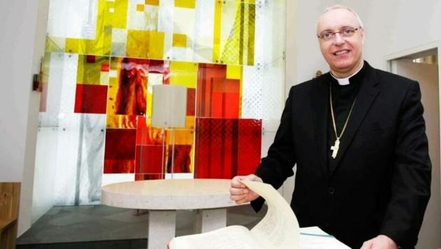 Bischof Ägidius Zsifkovics ist an Corona erkrankt. (Bild: Reinhard Judt)