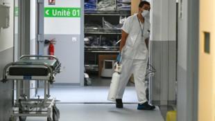 Emile-Muller-Spital in Mulhouse (Bild: AFP)