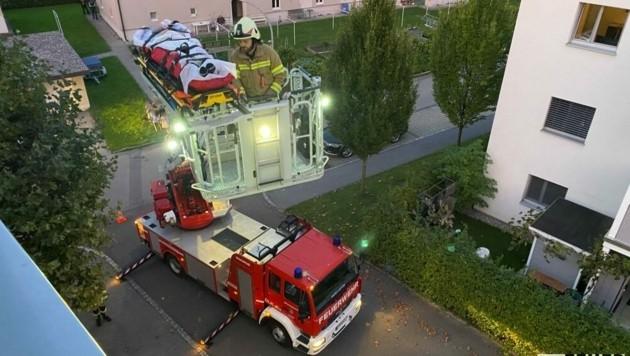 (Bild: Feuerwehr Hard)