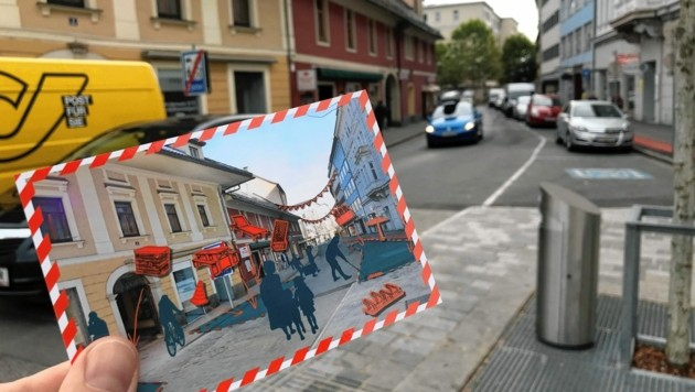 """35.000 Euro kostet der """"Tactical Mobilism"""" in der Postgasse. (Bild: Peter Kleinrath)"""