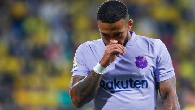 Memphis Depay (Bild: Copyright 2021 The Associated Press. All rights reserved)